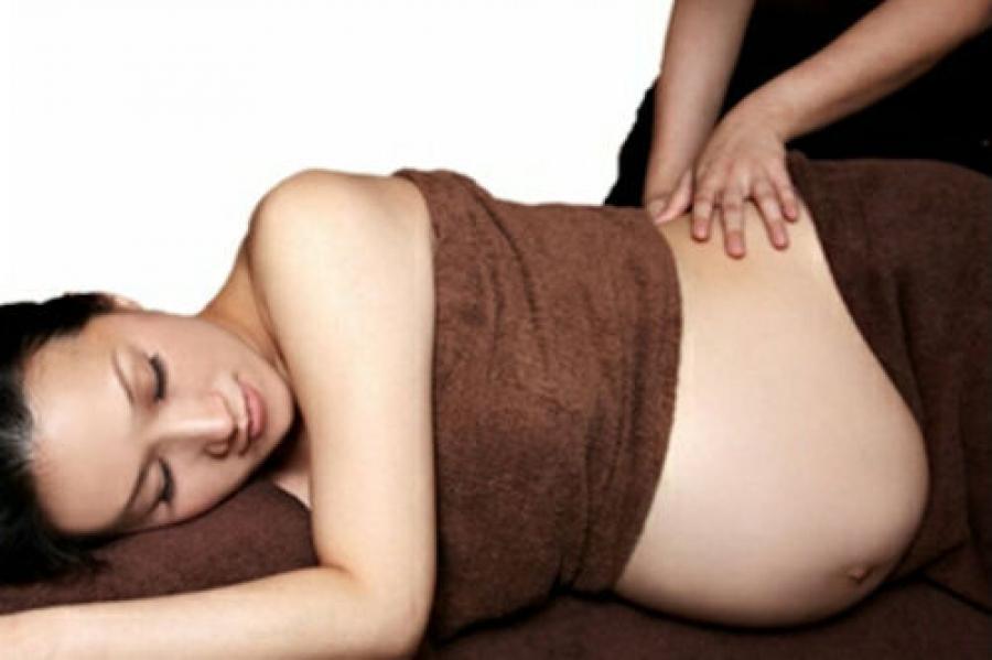 Bildresultat för gravidmassage